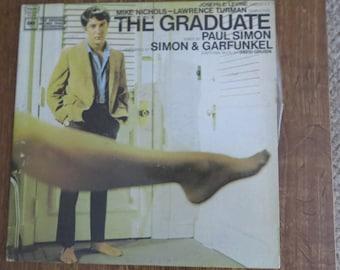 1967 The Graduate Soundtrack Vinyl Columbia Simon & Garfunkel