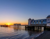 Penarth Pier sunrise...