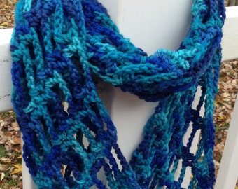 Lace Infinity Scarf, Infinity Scarf, Spring Scarf, Winter Scarf, Cowl
