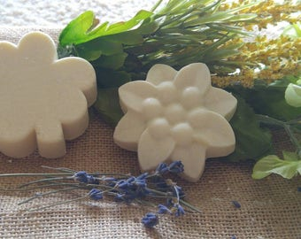 2 for 10 dollars! Lavender Scented Shea Butter Soap