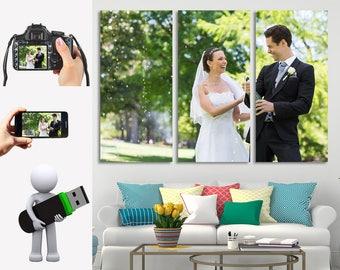 Custom Canvas, Canvas Wedding, Wedding Wall Décor, Canvas Pictures, Wedding Wall Art, Photo Canvas, Stretched Canvas, Custom Wall Art