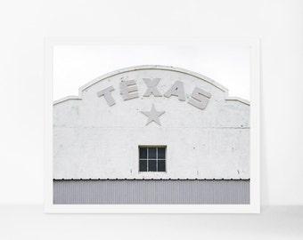 Texas Printable Art, Minimalist Texas Printable Photography, Marfa Printable, Instant Download, Lone Star Printable Poster