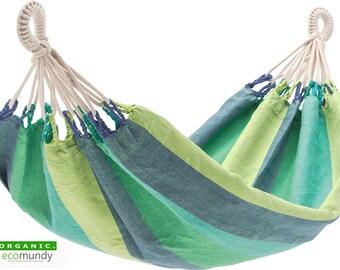 Ecomundy organic baby hammock - GOTS - handloom