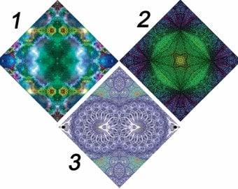 KalEYEdoscope Creations: Psychedelic Bandanas