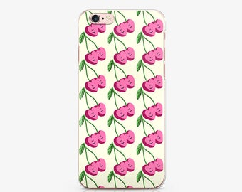 Cherry iPhone 8 Case iPhone 7 Plus Case iPhone 6 Case iPhone 6S Case iPhone X Case Samsung Note 8 Case Samsung S7 Edge Case Note 7 AC1028