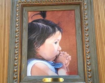 Hopi Prayer by Hopi/Navaho Artist Sharon Brening Limited Edition 25/100 Glicee Print on canvas