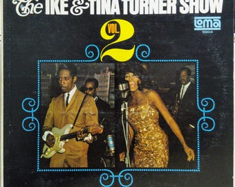 Ike And Tina Turner Show Vol 2 R&B Soul Lp Mono Loma