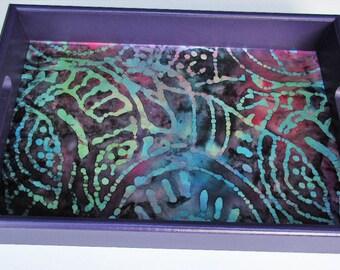 Colorful Batik Tray