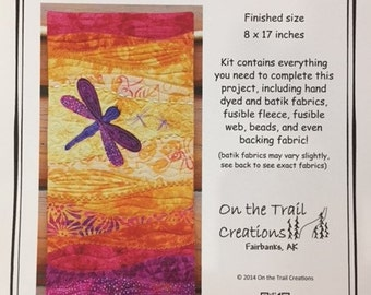 Dragonfly Wall Hanging Quilt Kit