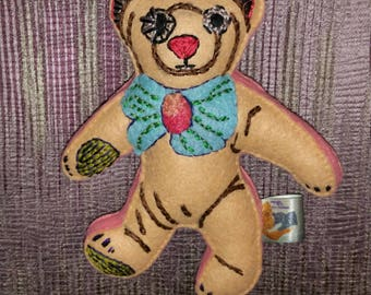Teddy Bear Art Doll