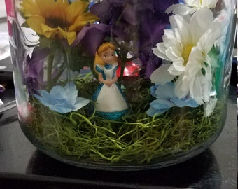 alice in wonderland centerpiece etsy