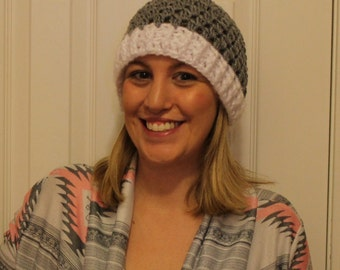 Crocheted Cluster Hat