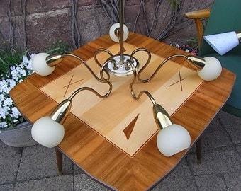 mid century ceiling light chandelier lamp lamp 50s design