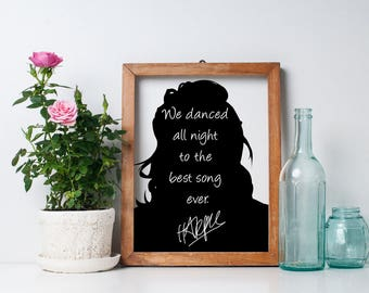 "Harry Styles ""We Danced All Night"" Art Print"