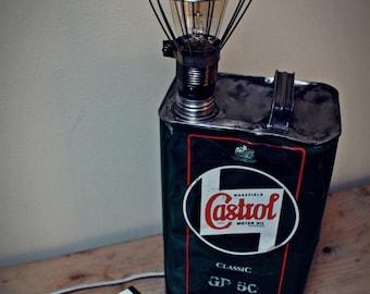 VINTAGE LAMP CASTROL uk ' 67