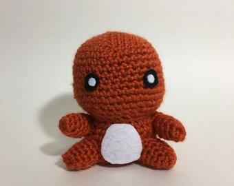 Charmander Crochet Amigurumi Plushie