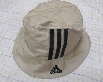 vintage ADIDAS EMBROIDERED BUCKET hats size 57-60cm