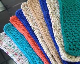Crocheted Dish Coths/Hot Pads