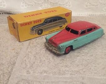 Vintage Dinky 171 Hudson Commodore Sedan - original box  Very rare DINKY TOYS 171 HUDSON