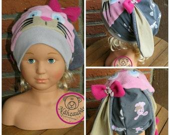 """Bunny ear hat """"Ohrelie"""" Beanie-Variant (sample image)"""