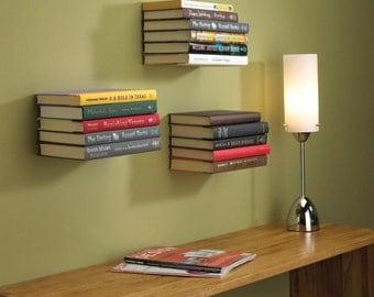 Invisible Bookshelf, Floating Bookshelf, Unbreakable Shelf, Utility Wall Shelf, Wall Shelf, Innovative Shelf