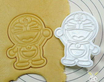 Doraemon Cookie Cutter and Stamp