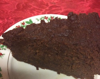 """Jamaican Black Fruit Rum Cake-7""""/48oz!  Rich and Moist!   Personalized and Gift Wrapped?"""