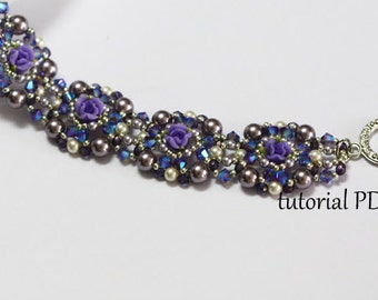 Crosweave Beaded Bracelet