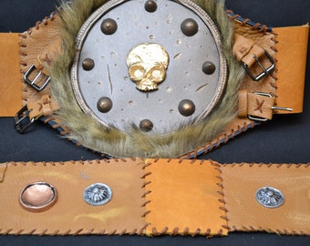 Barbarian Armored Belt