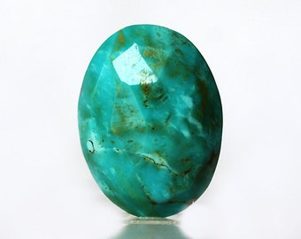 Best Quality 2.2 Gram Natural Sleeping Beauty American Turquoise Cabochon, Faceted Jewellery Gemstone, Loose Semi Precious, Calibrated, 1295
