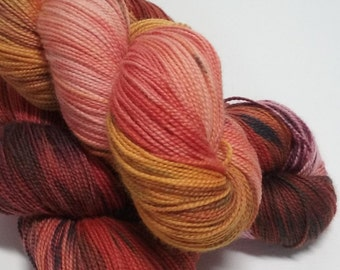 Embers - Hand Dyed Merino Wool - Sock Weight