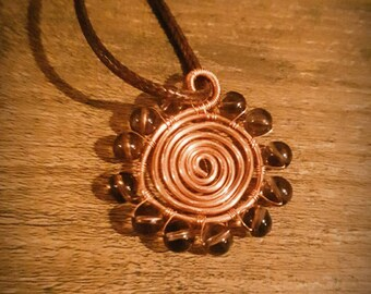 Smokey Sun Necklace