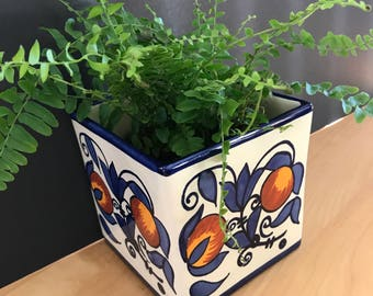 Mexican pottery planter