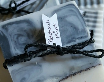 Woodstock - patchouli, mint, and charcoal