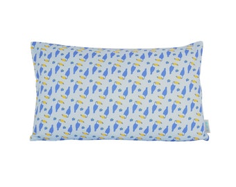 Printed Toucans cushion cover 12 x 20 inch, limited edition