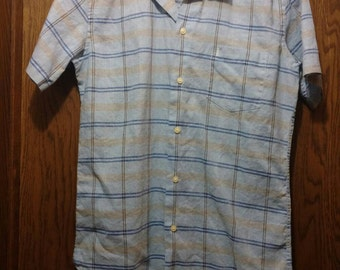 Yves Saint Laurent Short Sleeved Button Down