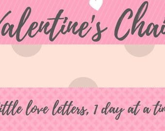 Valentines Chain - Little Love Letters