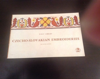 DMC Library Czecho-Slovakian Embroideries - New Edition (Revised)