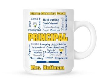Custom Principal Gift // Coffee Mug // Personalized Principal mug // Gift for principal // Coffee mug gift