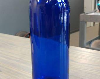 Glass Water Bottle   Custom Powder Coated