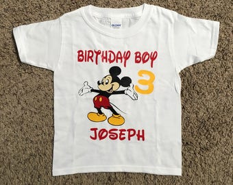 Mickey Mouse TSHIRT, Mickey birthday shirt, Disneyland t-shirt, Disneyland vacation shirt, Mickey Mouse birthday, cute Disney inspired shirt