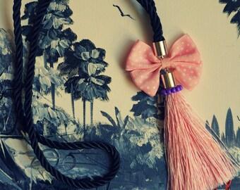 Beautiful Pendant Bow Tie