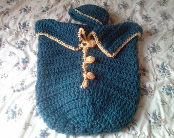 Baby Bunting Bag with buttons