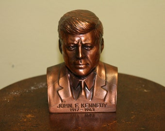 John F. Kennedy piggy bank