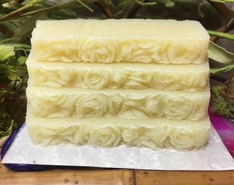 Vegan CP Soap scented with Love Spell Fragrance Oil (please read)