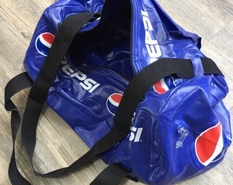 90s pepsi inflatable drink carrier