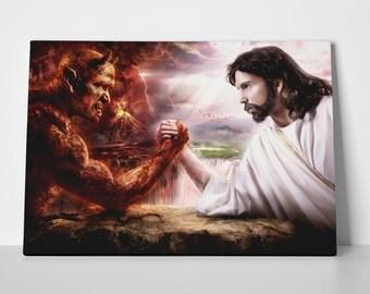 Jesus Limited Edition 24x36 Poster | Jesus Canvas