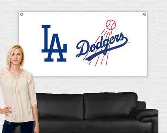 Los Angeles Dodgers Banner 3 ft x 6 ft