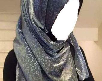 Shimmering hijab