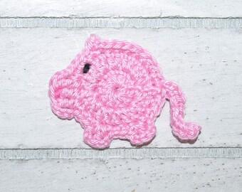 1 Piggies - pork - patches - crochet - application